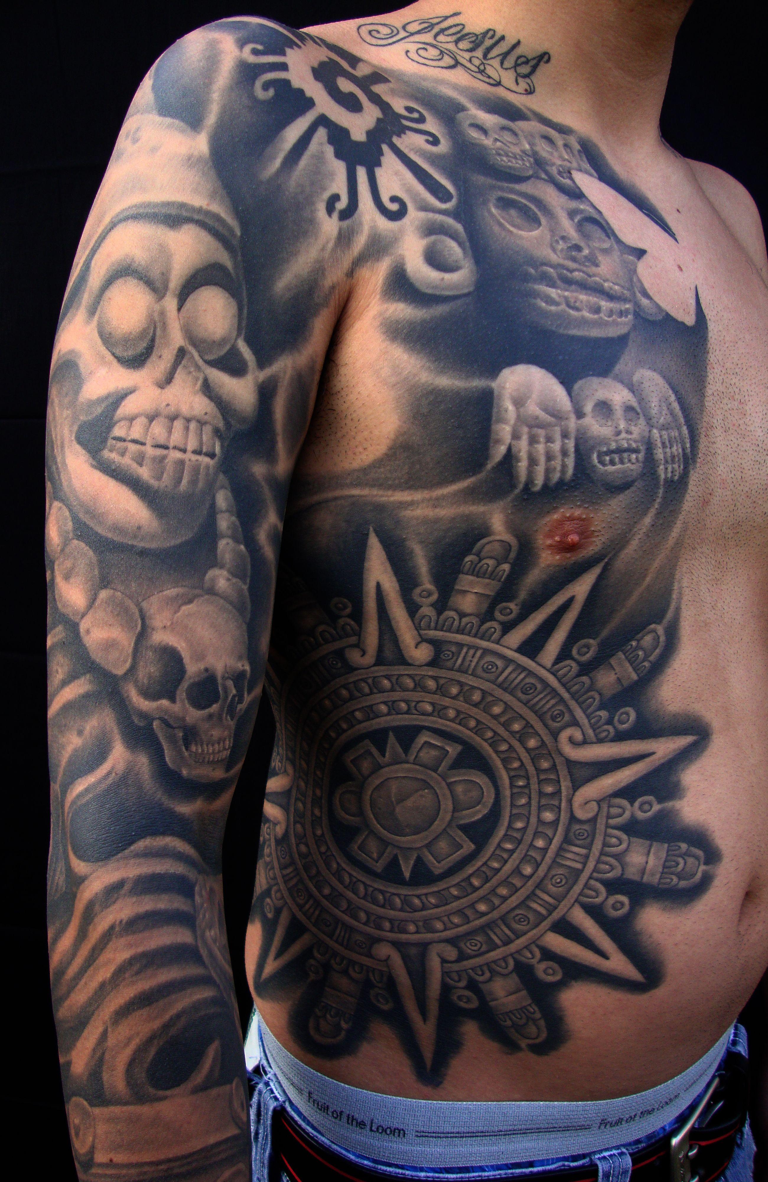 Koi Fish Tattoo Half Sleeve Stencil Ebcfcfbbfbbec