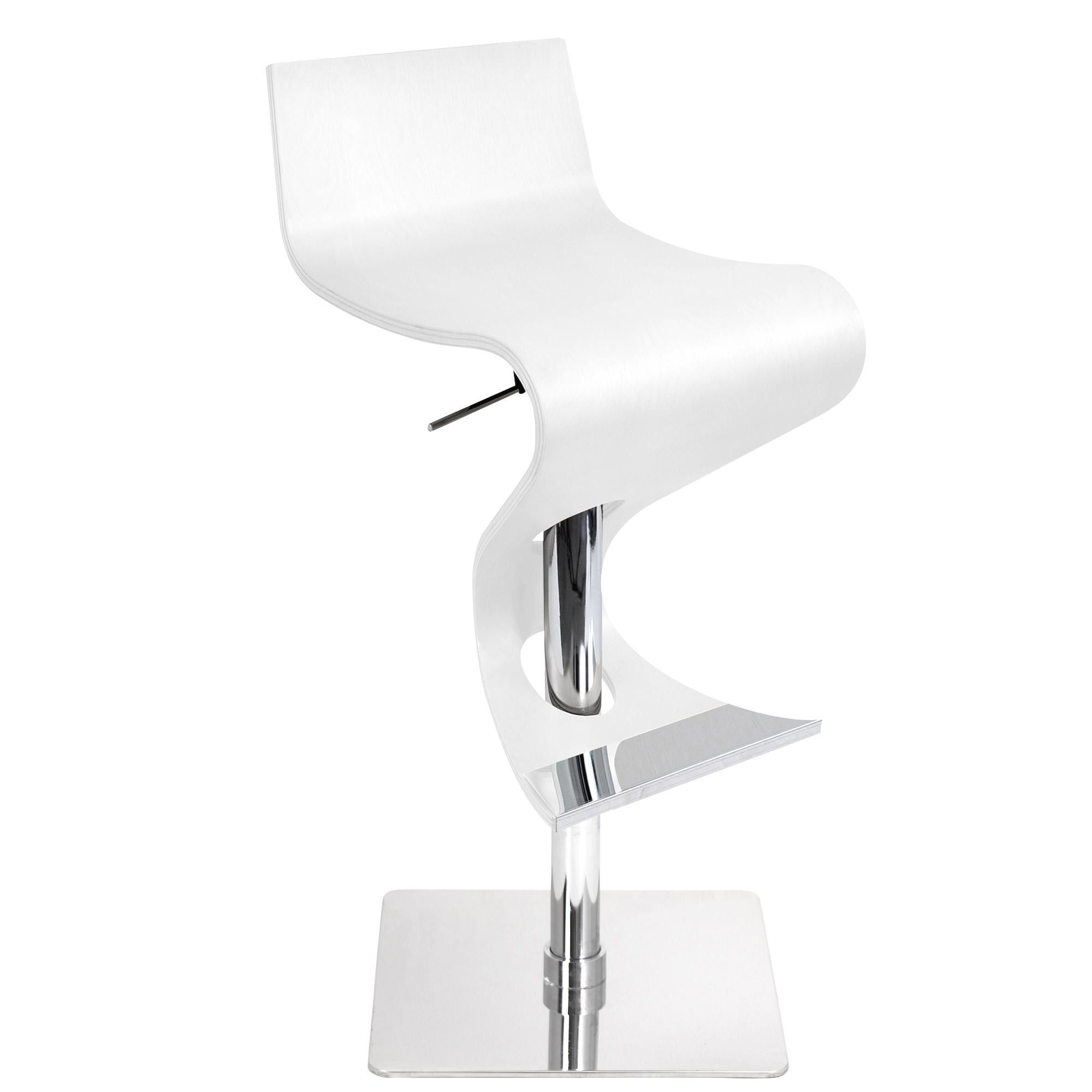 Peachy Lumisource Viva Bent Wood Bar Stool Kitchen Wood Bar Caraccident5 Cool Chair Designs And Ideas Caraccident5Info