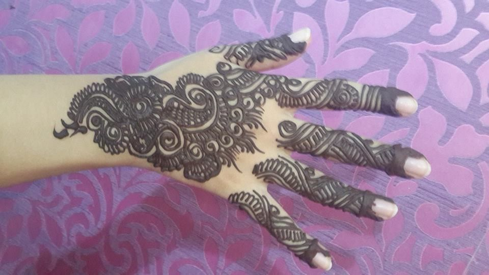 A To Z Mehndi Designs : Design by jabeen'z salon mehndi for eid parties