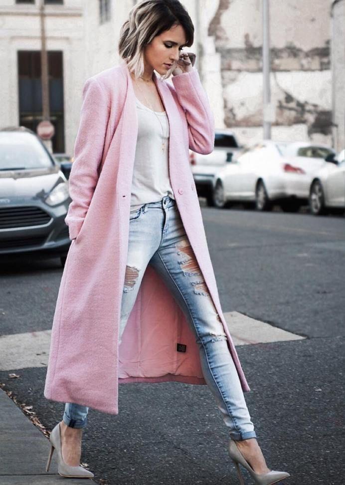 Пальто женские демисезонные (50 фото) — Модные образы 2018 ...