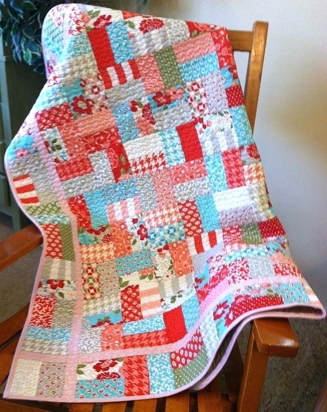 Best 25 Jellyroll Quilt Patterns Ideas On Pinterest Baby Quilt