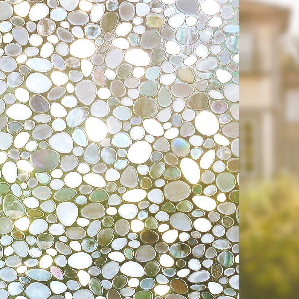 Amazon Com Rabbitgoo Privacy Window Film Decorative Window Film