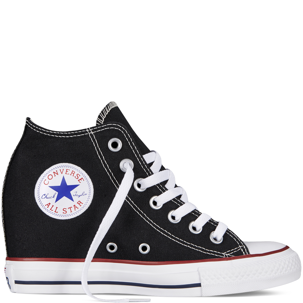 24e2ebc3 These are cute but my tennis shoes don't have heels! Chuck Taylor All Star  Lux Wedge - Converse. Find this Pin and more on The Shoe ...