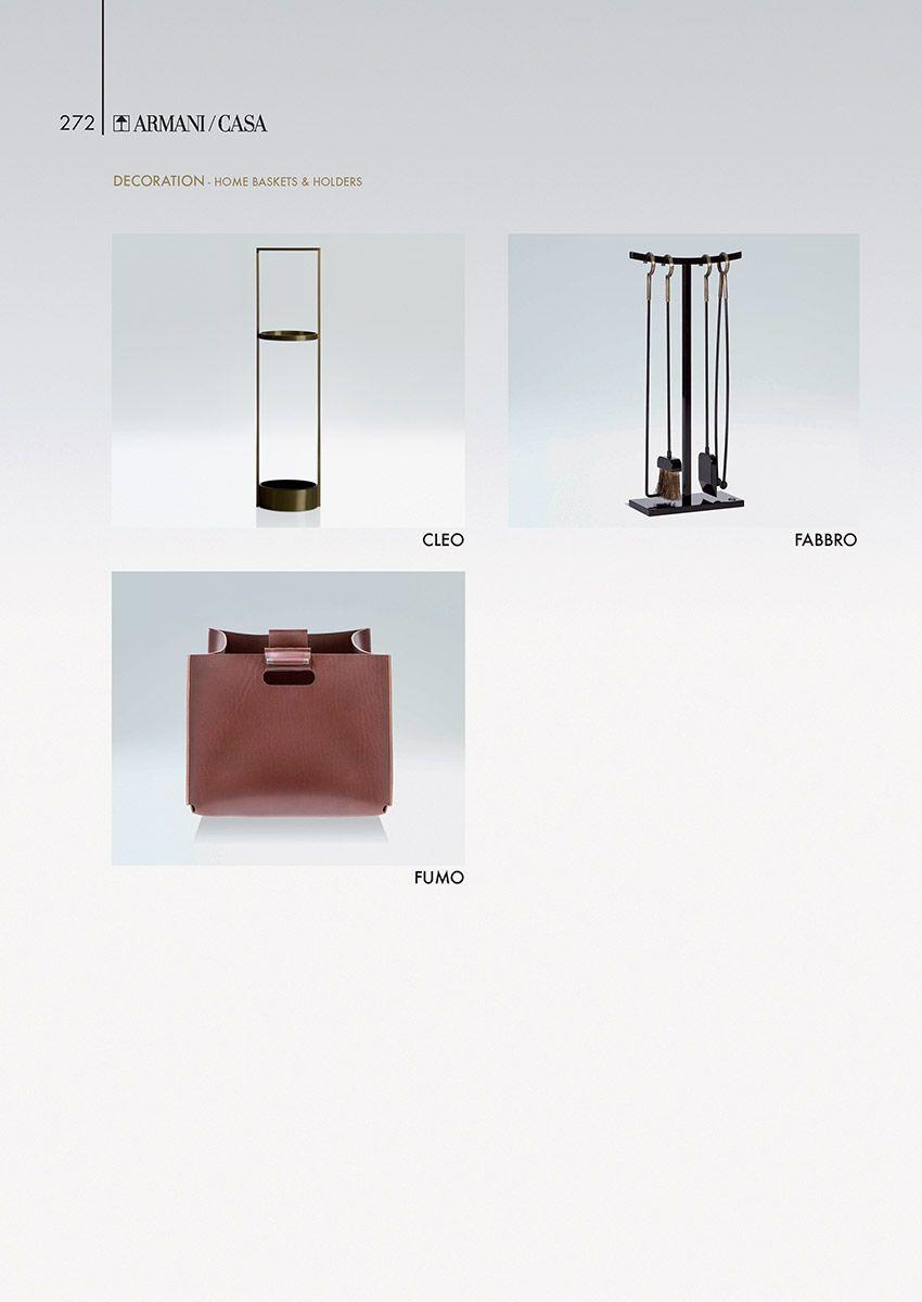Decoration armani casa portariviste for Riviste interior design