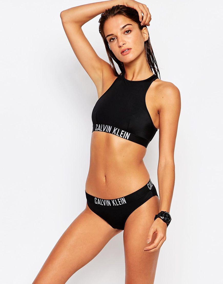 Calvin Klein - Intense Power - Bas de bikini taille basse at asos.com
