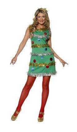 Deguisement Sapin De Noel Femme robe sapin de noel | Christmas tree costume, Christmas tree dress