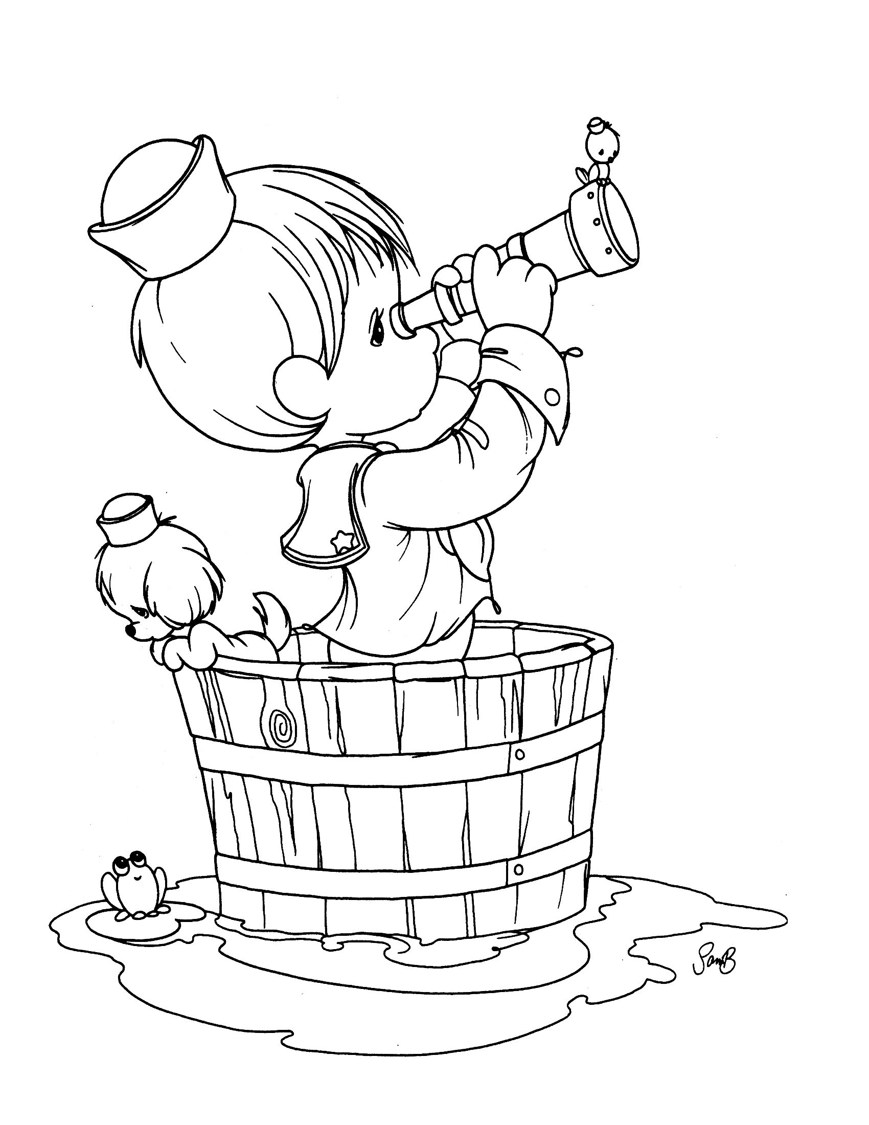 Precious Moments Coloring Page Precious Moments Coloring Pages