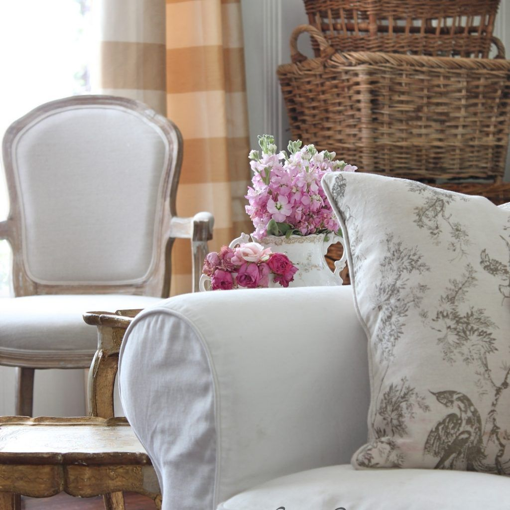 Marvelous French Country Sofa Covers