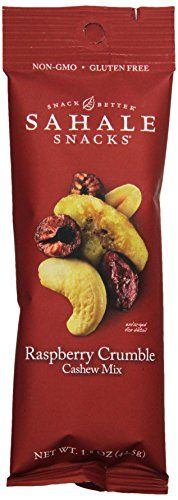 Sahale Snacks Grab and Go Cashew Mix, Raspberry Crumble, 1.5 Ounce (Pack of 18) Sahale Snacks http://www.amazon.com/dp/B00LPEBEI2/ref=cm_sw_r_pi_dp_J83Yvb0HHMKKA