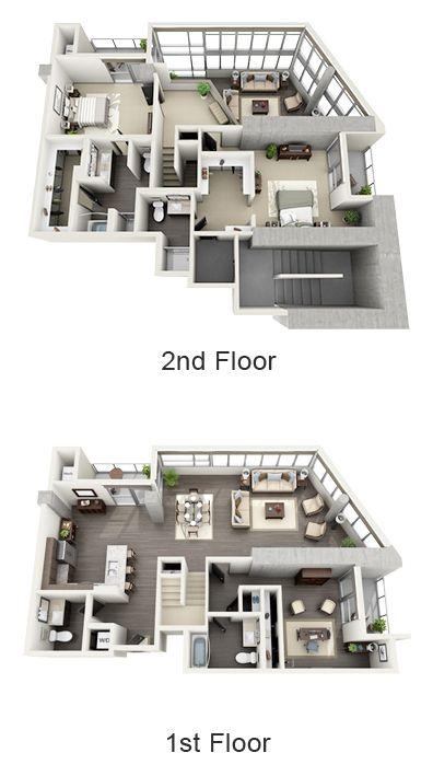 1600 Vine Floor Plans Sims House Plans House Layout Plans Sims House Design
