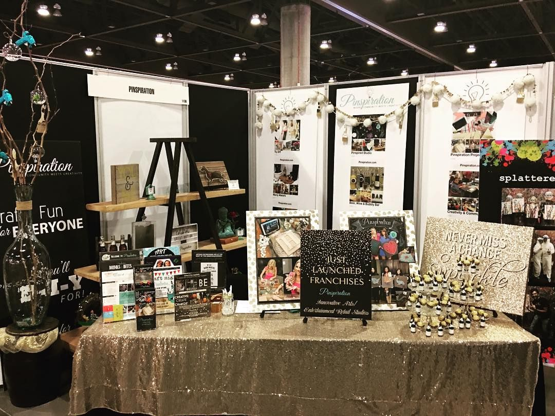 @pinspirationaz's booth is all set up and ready to go! Ready for show room action starting tomorrow! Be sure to visit our booth 1136. Look for the splatter room and you won't miss us!  @3M @scotchblue @decoart #splattered  @craftandhobbyassociation #cha #creativation #buildingourempire #diy #smallbusiness #inspire #splatterroom #womaninbusiness #pinspirationaz  #artstudio #pinterest #cha2017 #chashow2017