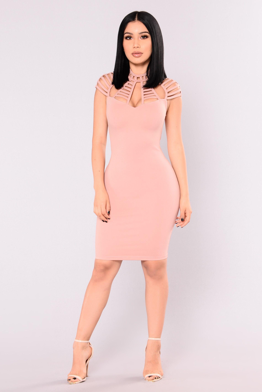 Stop and Stare Dress - Mauve | Vestidos ajustados, Vestiditos y ...