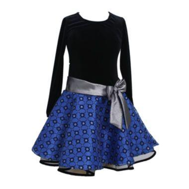 dfee254f611c8 Bonnie Jean® Velvet Drop-Waist Dress - Girls 7-16 and Plus found at @ JCPenney