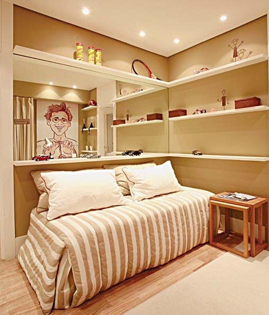 quarto de solteiro masculino simples: 5 dicas + 37 fotos | quartos
