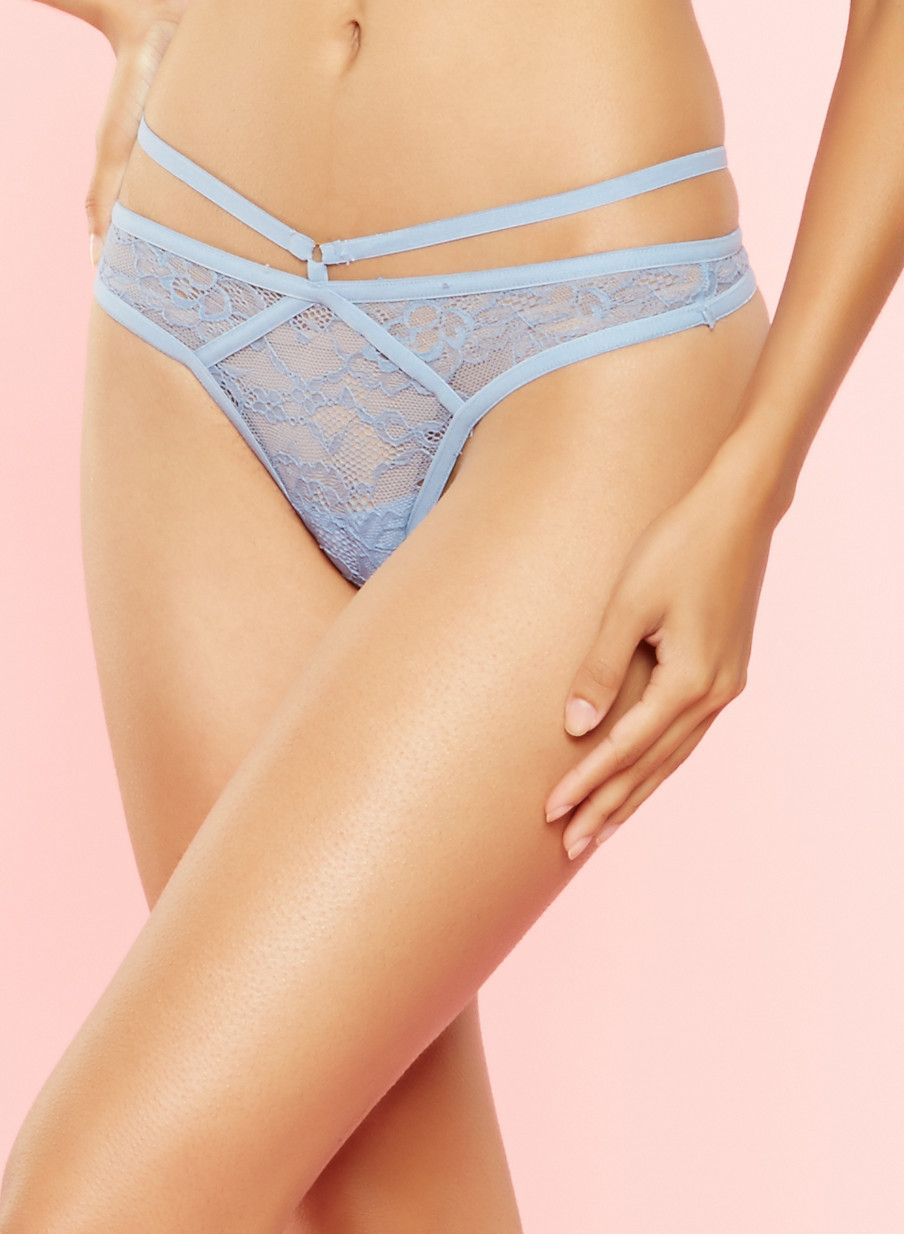 ef966d431e9 O Ring Caged Lace Thong Panty in 2019