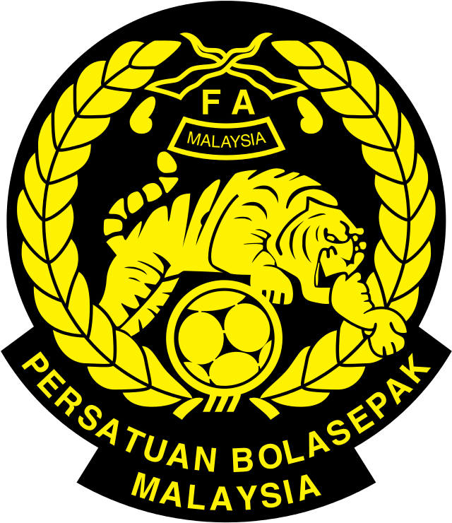 Malaysia Football Association Of Malaysia Persatuan Bola Sepak Malaysia Malaysia National Football Team National Football Teams Football Team Logos