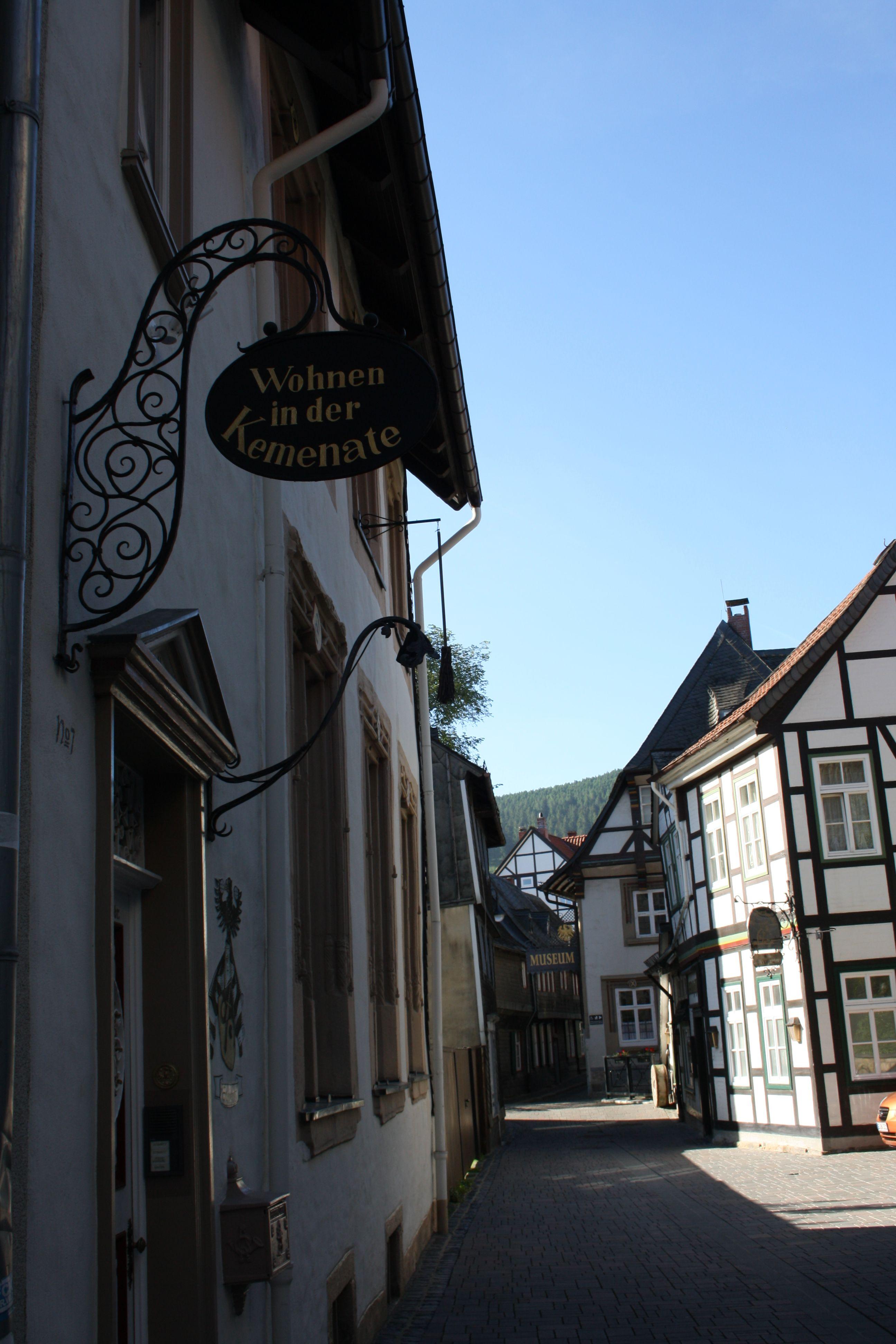 In der Worthstraße in Goslar  Reiseziele, Mittelalterliche stadt Ideen