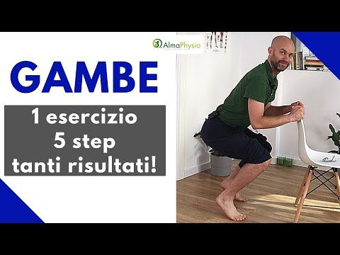 Gambe: 1 esercizio – 5 step – tanti risultati (NO ATTREZZI!!!)