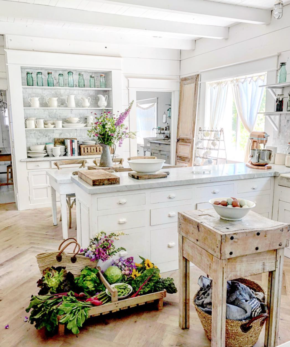 Kitchen Decorating Ideas Pinterest In 2020 Beautiful Kitchens Farmhouse Kitchen Inspiration Country Kitchen Designs