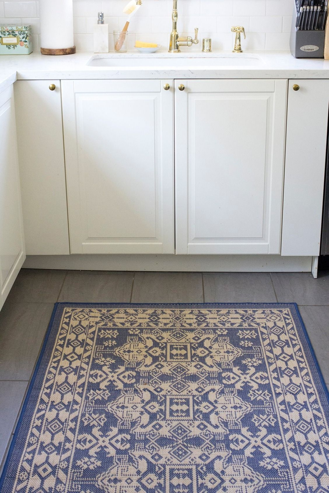 Magnolia Home Rug For My Kitchen Refresh With Bed Bath Beyond