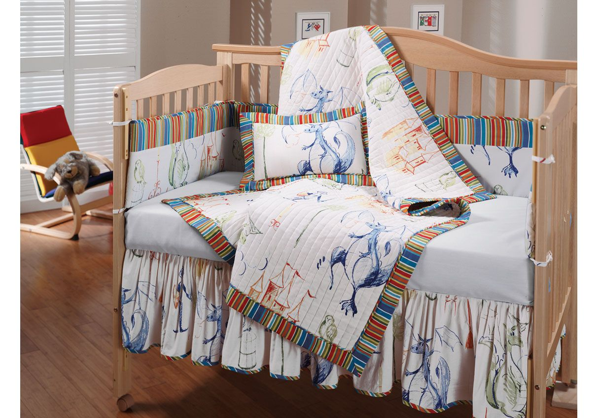 We D Love A Dragon Themed Nursery Crib Sets Baby Bedding Sets