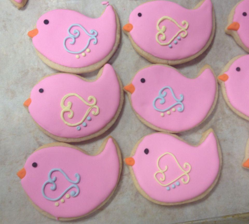 Sweet birds!  Cookies by Tracycakesar