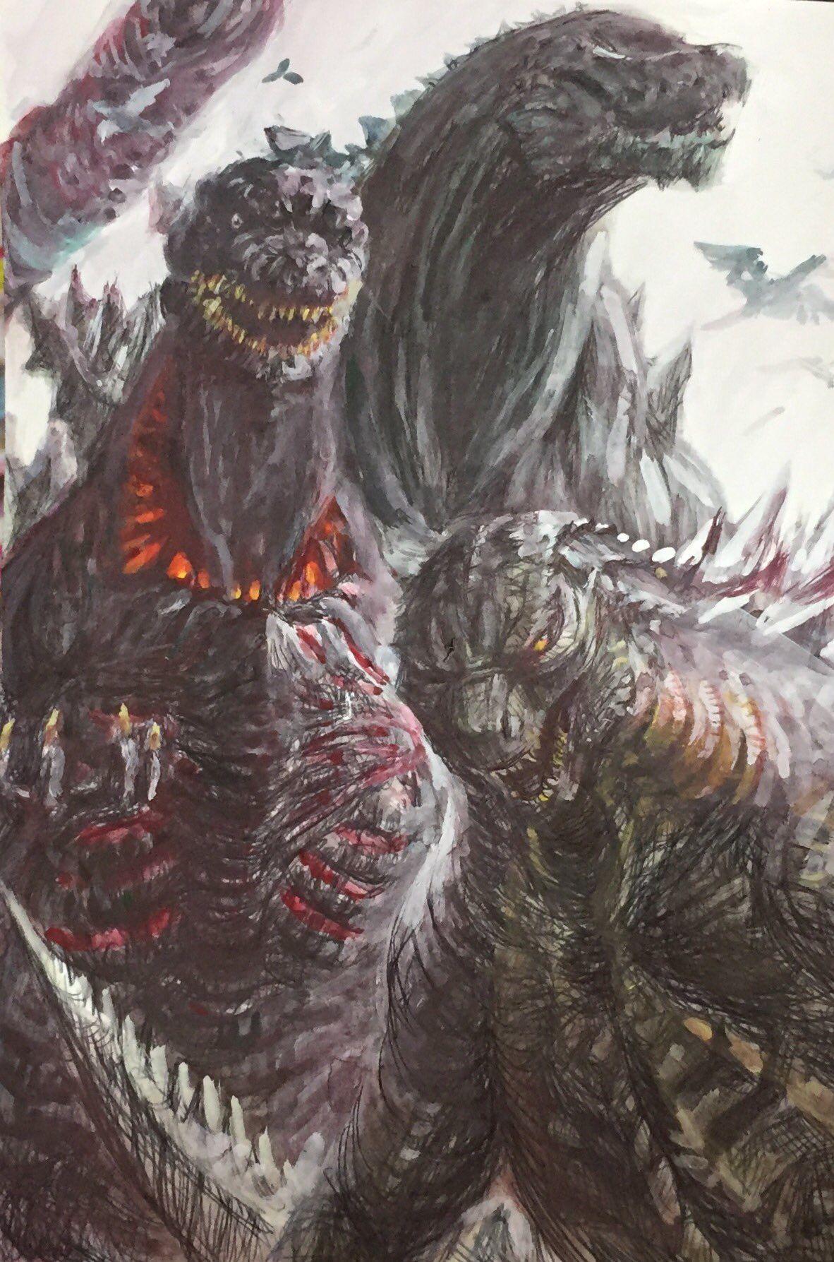 Godzilla2014 2016 and 2017 | Godzilla | Pinterest ...
