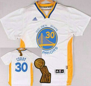 5045271ad ... me golden state warriors stephen curry revolution 30 swingman 2014 new  white short sleeved jersey with