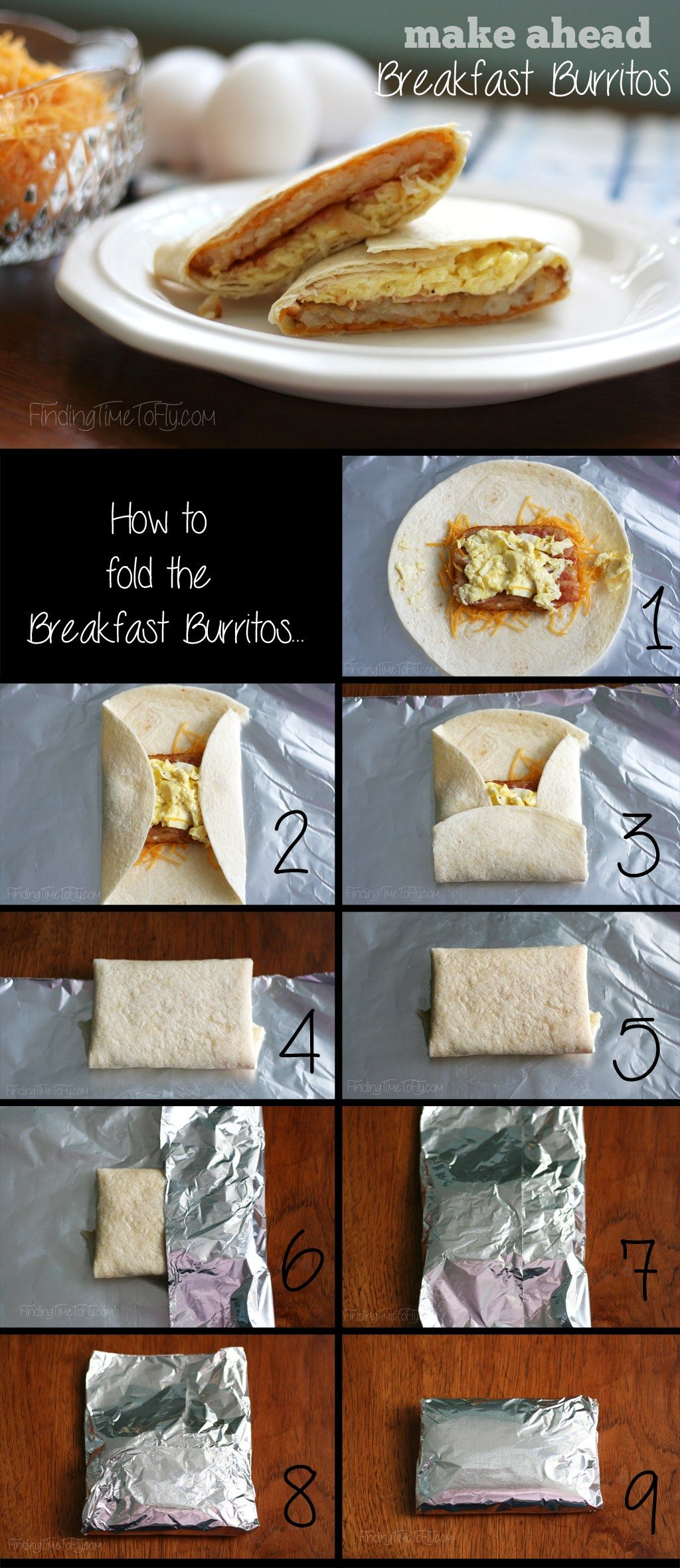 Make Ahead Breakfast Burritos Recipe Make Ahead Breakfast Burritos Camping Breakfast Burritos Make Ahead Breakfast