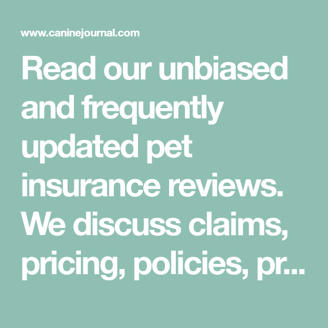 Pet Insurance Reviews 2020 Cost Coverage Comparisons Pet Insurance Reviews Pet Insurance Insurance