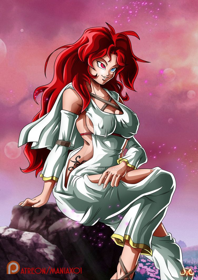 Oc lady rose normal form by maniaxoi art dragon ball - Dbz fantasy anime ...