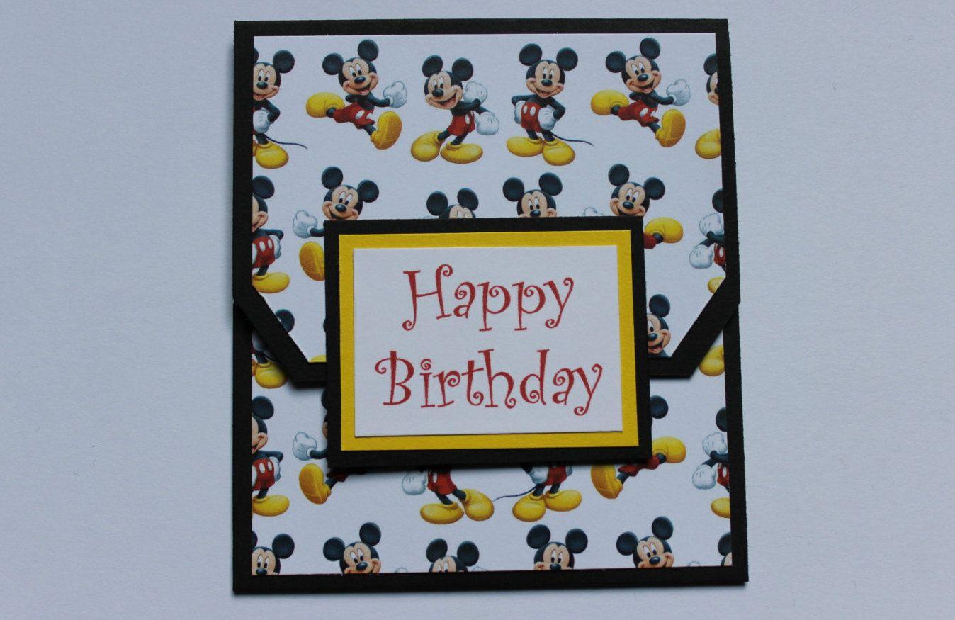 Disney Gift Card Holder