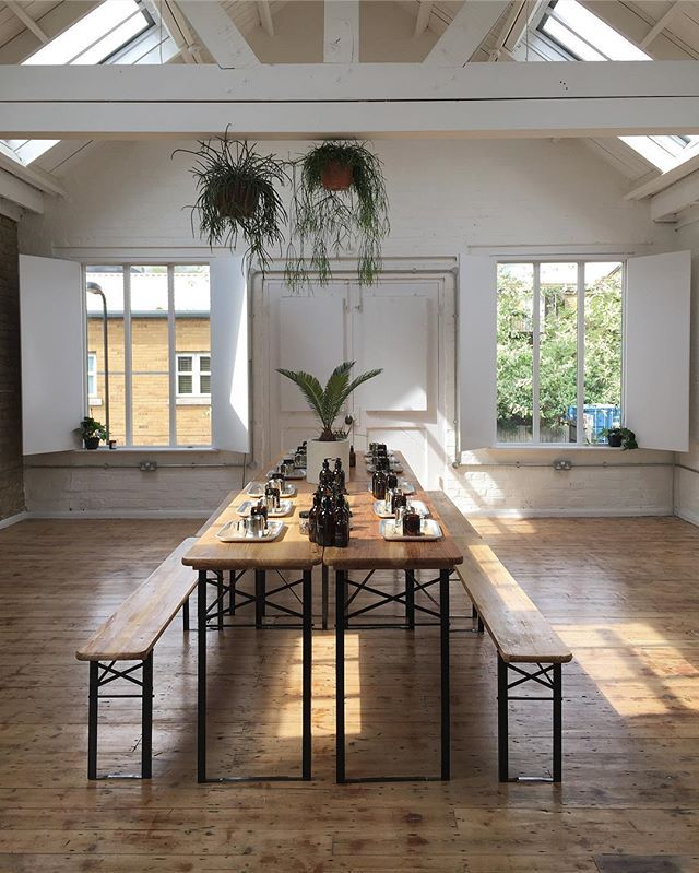 Beautiful Light At Bonds Hackney The First Floor Space Was Used For Events Before Kana London