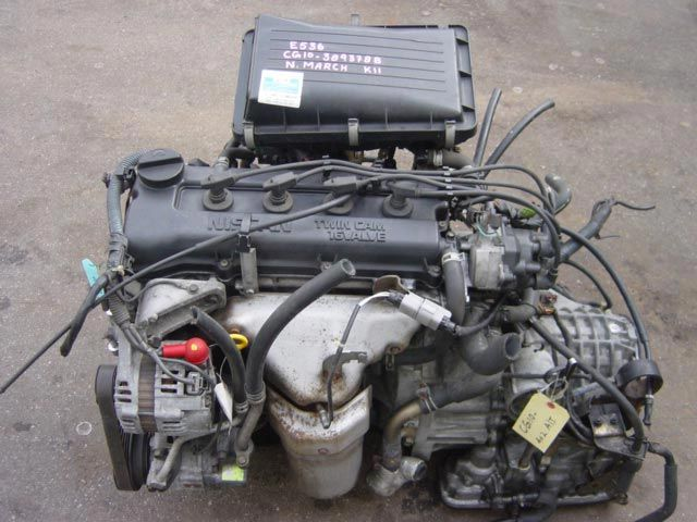Engine Code : CG10, Fits in: Nissan March | Auto Engines ...