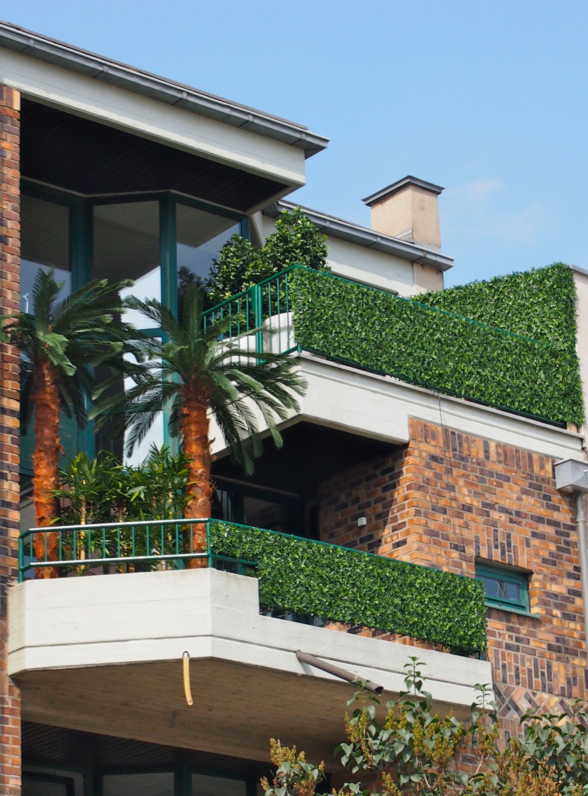 Wetterfeste Kunstpflanzen von Bellaplanta Sichtschutz