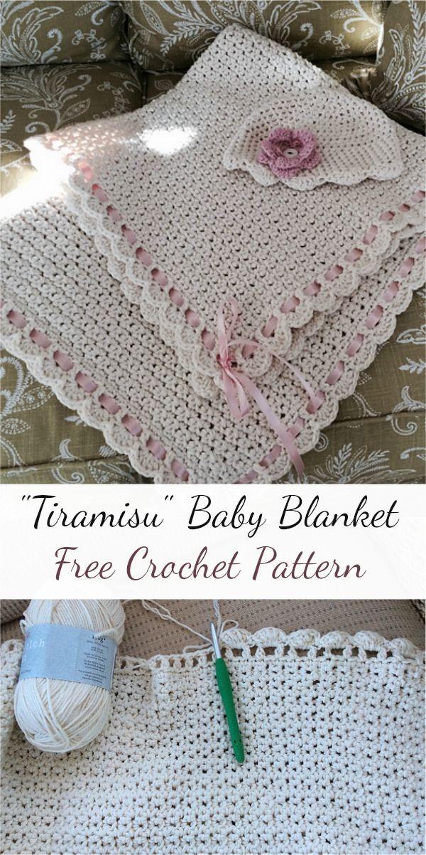 Tiramisu Baby Blanket Free Crochet Pattern Crochet Crochetlove