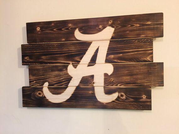 Good Small University Of Alabama Football Man By MonogramedMemories. Alabama  BedroomAlabama DecorAlabama ...