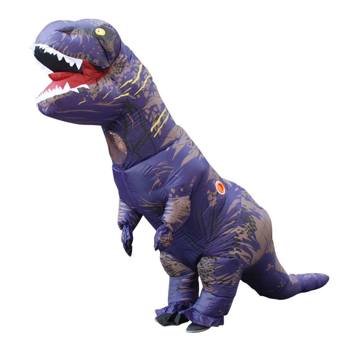 ... Costumes Material  Polyester. Adult Purple Polyester T-REX INFLATABLE  Dinosaur Costume Cosplay with Pump Carnival f01815ce15d1