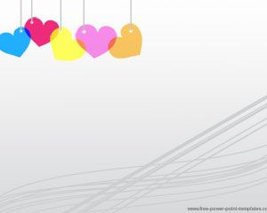 Free gray colorful hearts powerpoint template love powerpoint free gray colorful hearts powerpoint template toneelgroepblik
