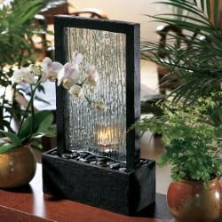 bring the beauty and serenity of a tropical waterfall indoors with