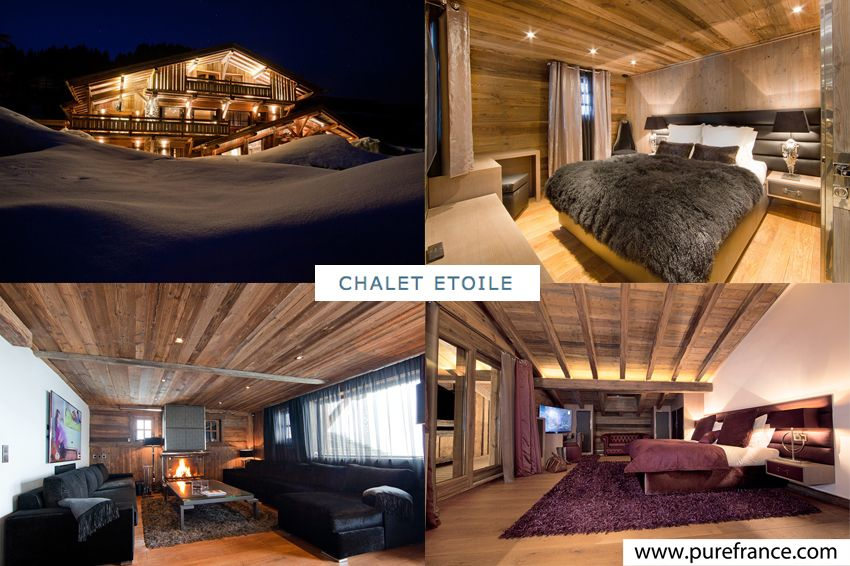 7 bedroom #luxury #ski chalet with gym, jacuzzi & hammam only 50m from the ski slope. www.purefrance.com/74002
