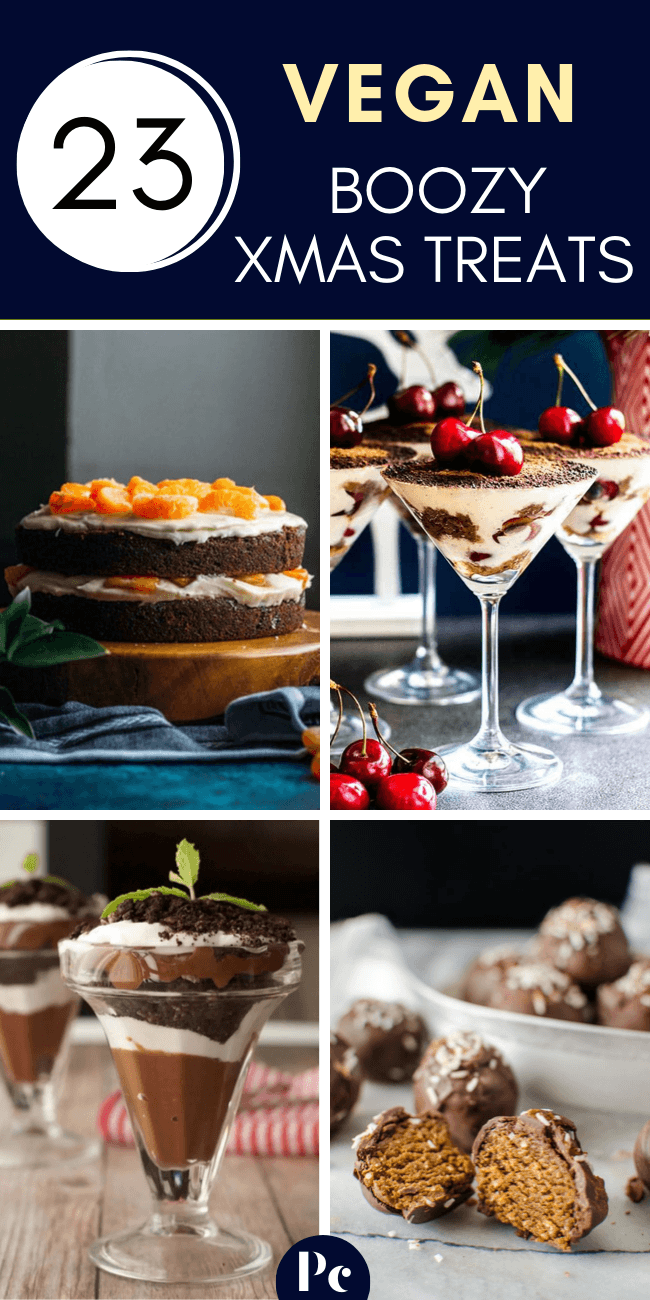 These Vegan Boozy Christmas Dessert Recipes are the perfect alcoholic treats for…