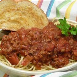 Spaghetti Sauce With Ground Beef Recipe Ground Beef Recipes Beef Recipes