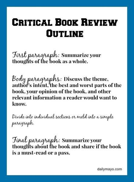 Critical Review Essay Outline - Writing an essay can be hard - resume book