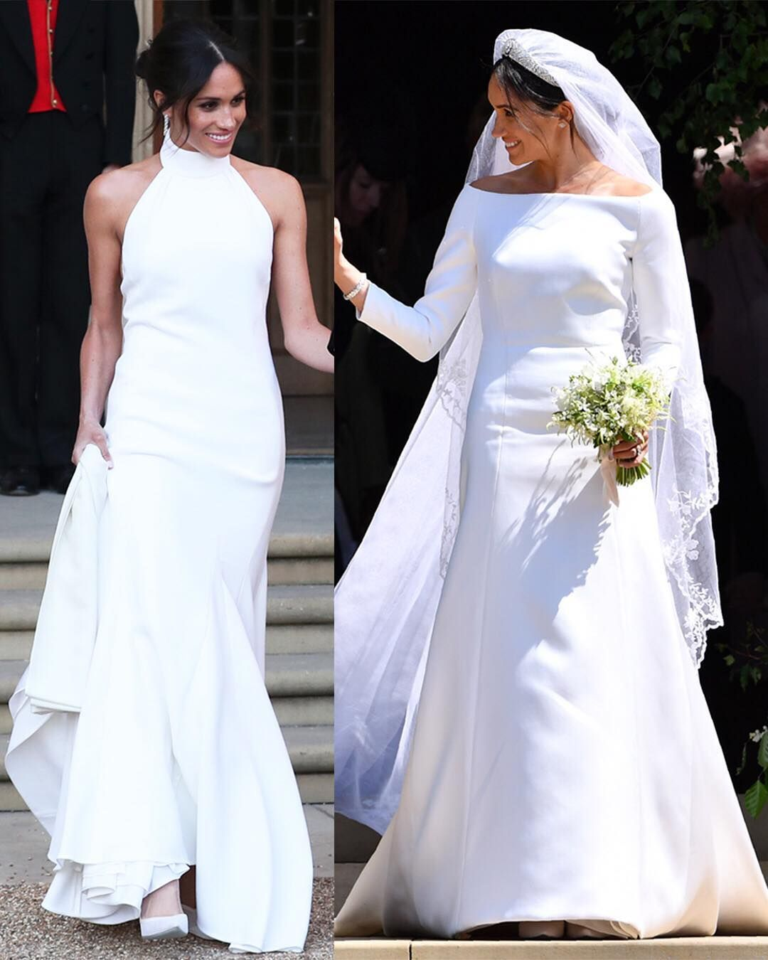 Pin by Kirsty D'Costa on Hair Celebrity wedding dresses