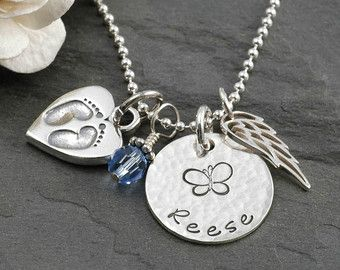 In Remembrance Sympathy Personalized Necklace By