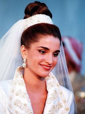 حفل زفاف الملك عبدالله الثاني والملكة رانيا - موقع العروس