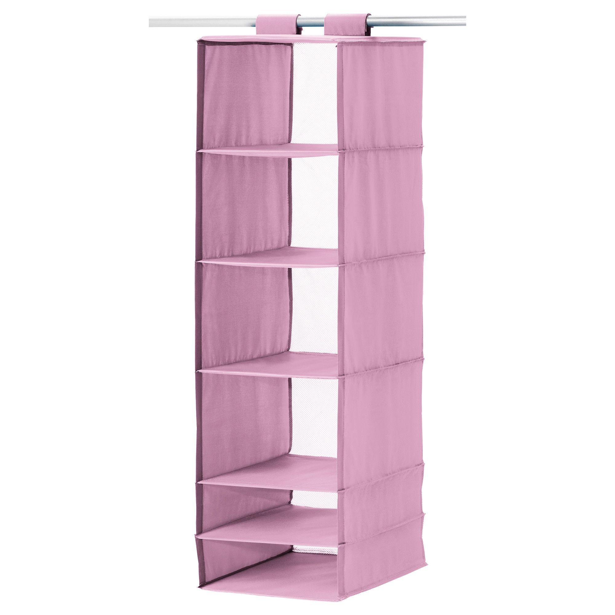 SKUBB Organizer with 6 partments pink IKEA