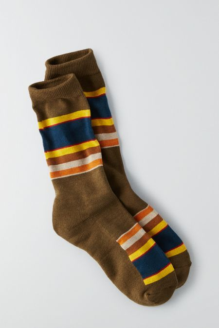 AEO Pendleton Badlands National Park Crew Sockss, Women's, Green
