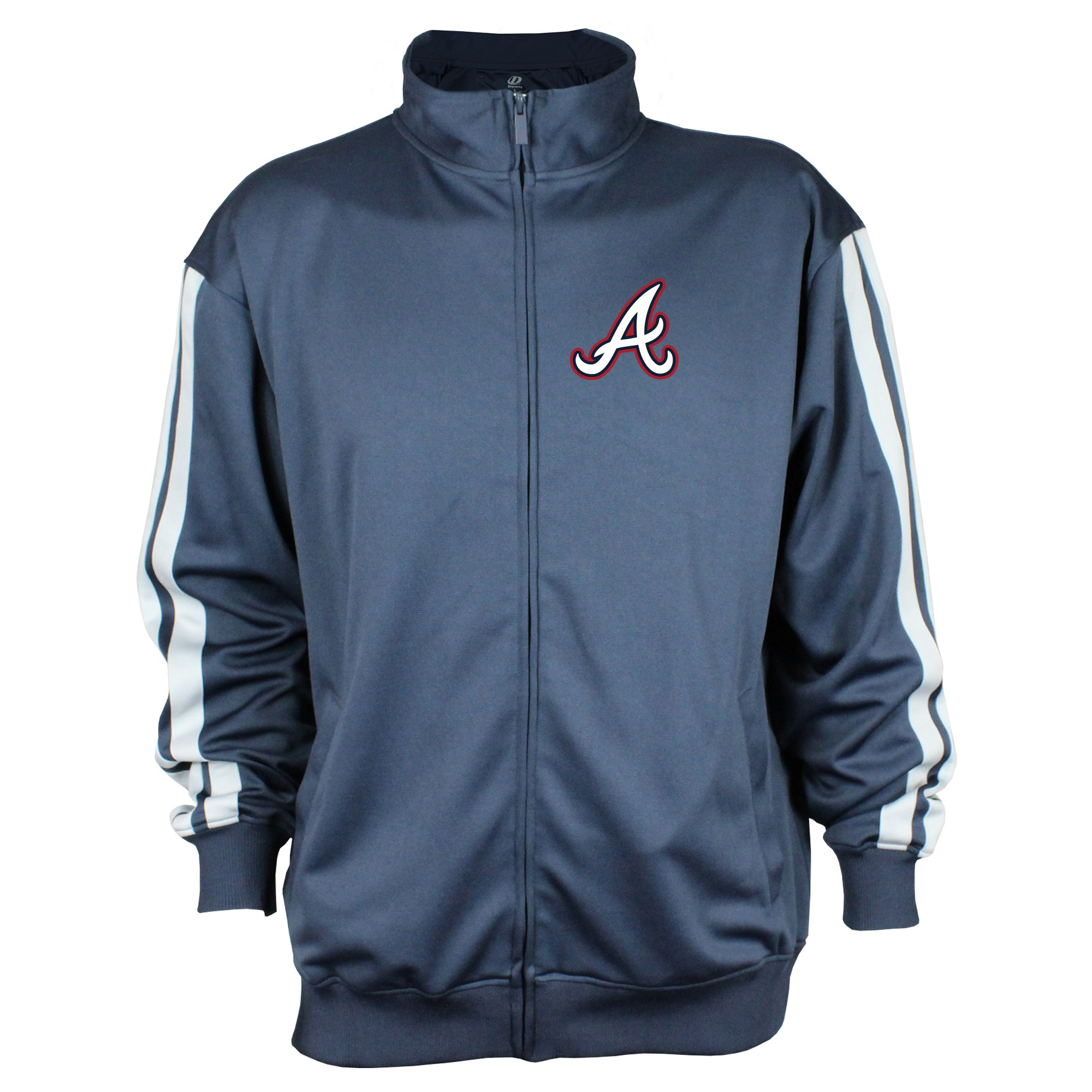 Atlanta Braves Men S Zip Up Track Jacket M Track Jackets Jackets Performance Hoodie